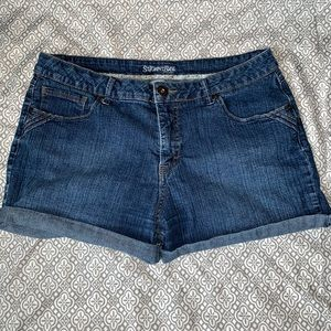 St. John's Bay Jean Shorts